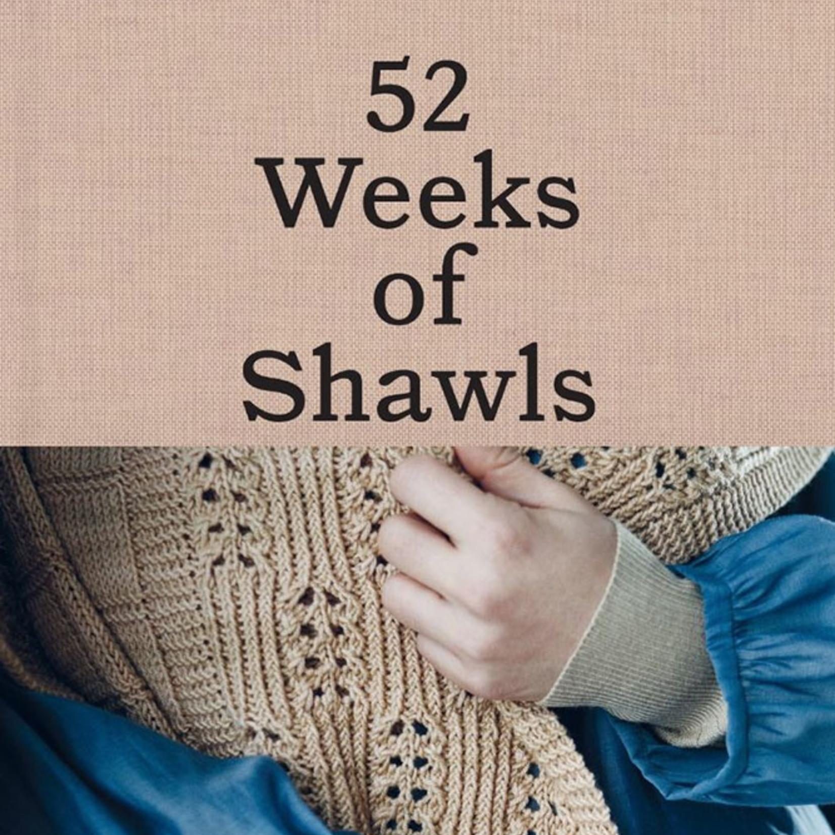 Laine Publishing 52 Weeks of Shawls
