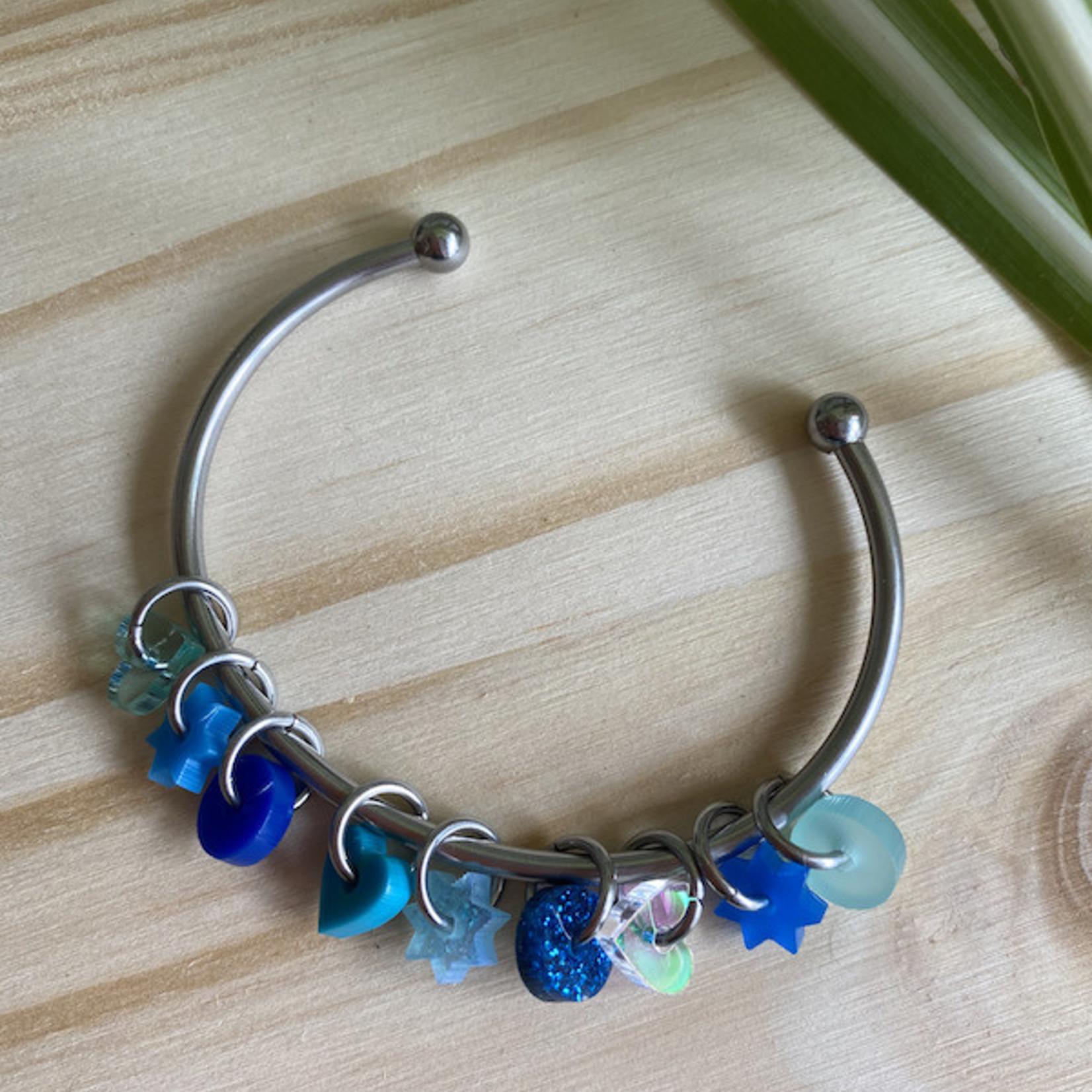 Katrinkles Katrinkles -  Stitch Marker Cuff Bracelet