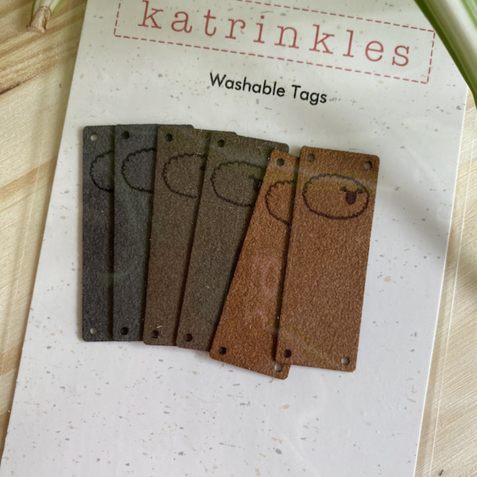 Katrinkles Sheep Foldover Tags