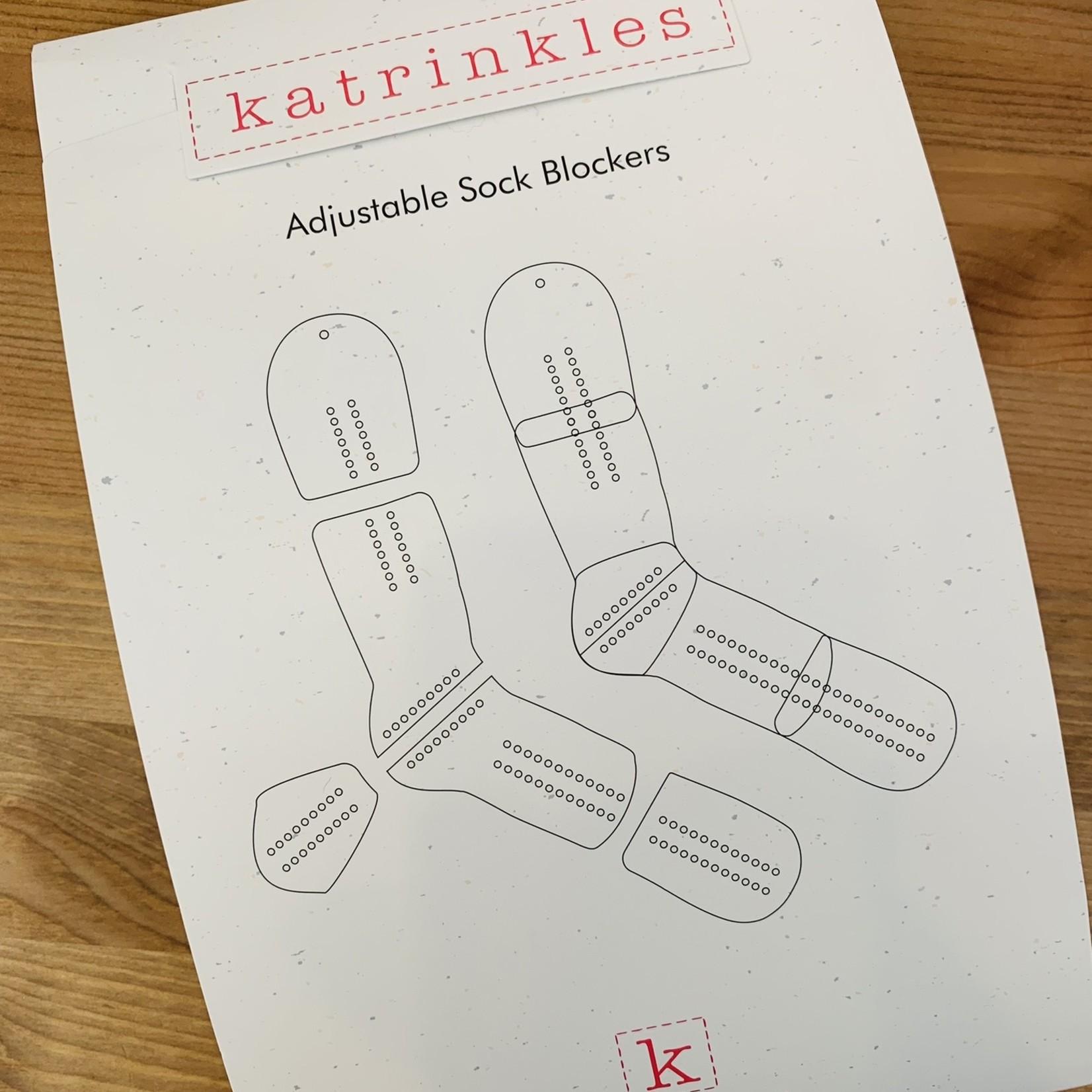 Katrinkles Bloqueurs de bas ajustables - Adulte