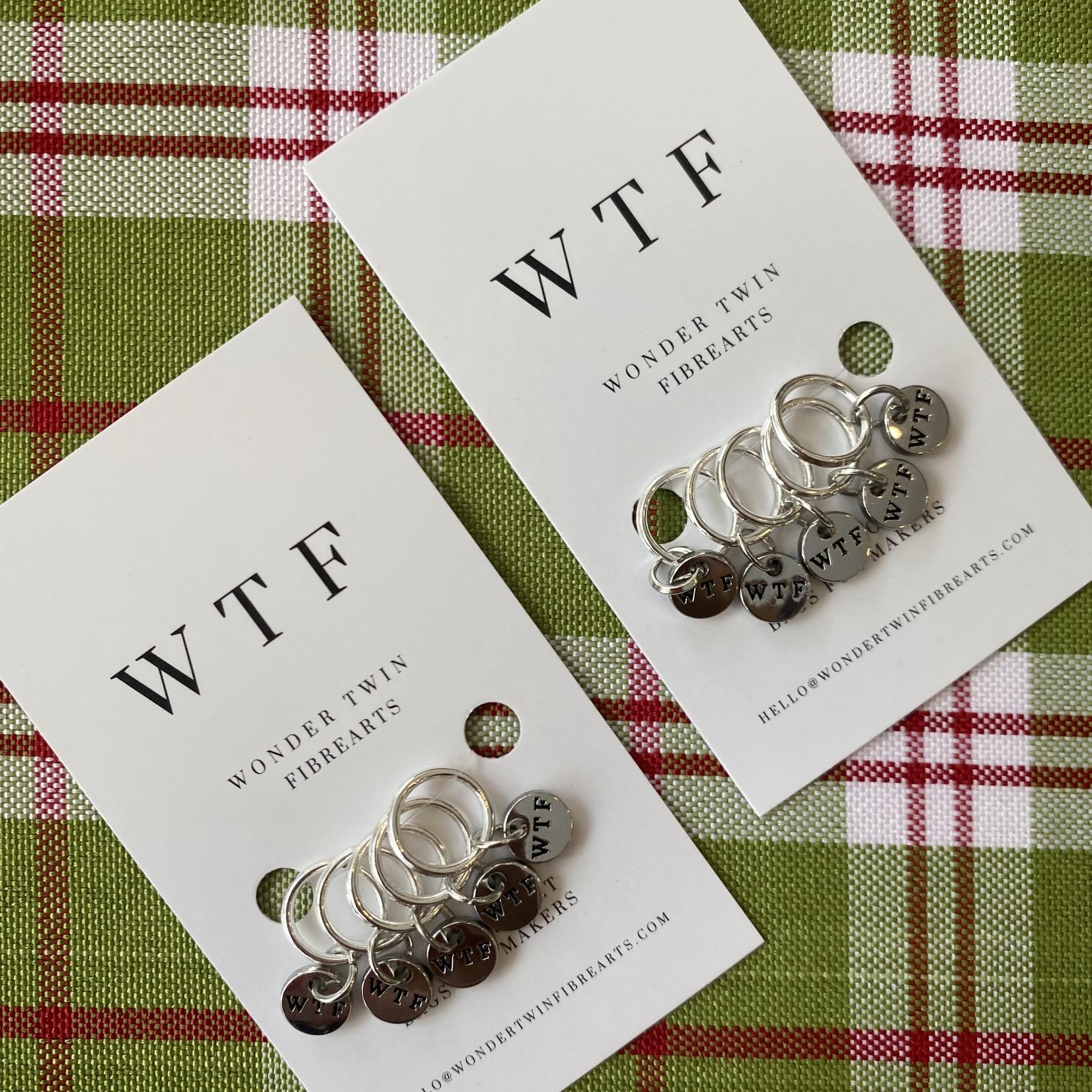 Wonder Twin Fiberarts WTF - Stitch Markers