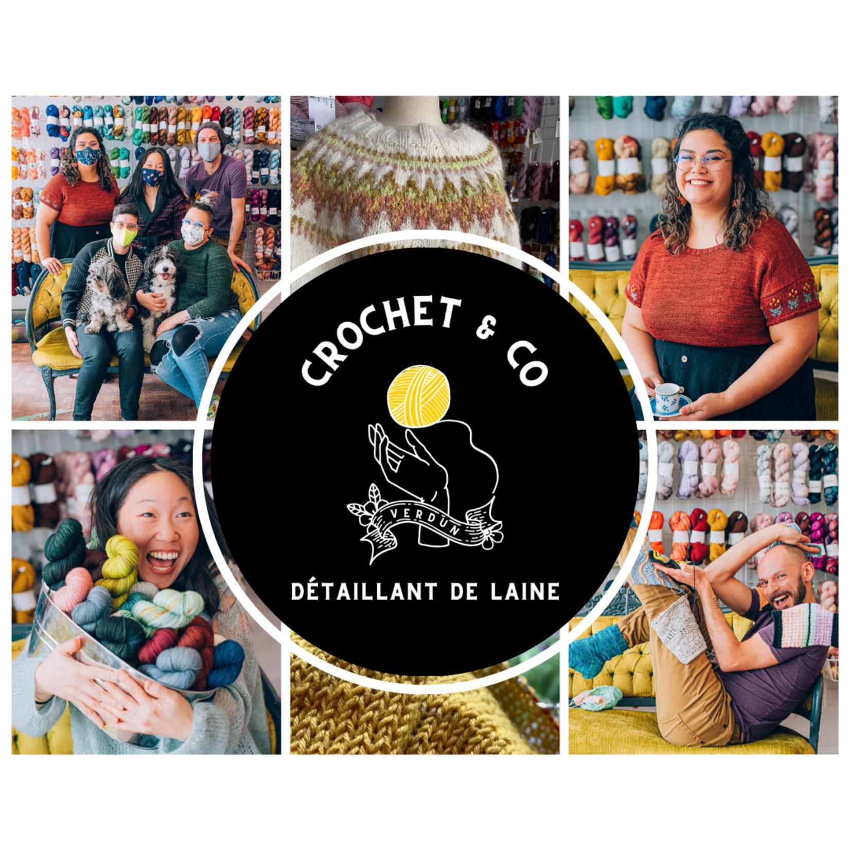 Crochet & Co Online Workshop: Intro to Design with Kate Atherley