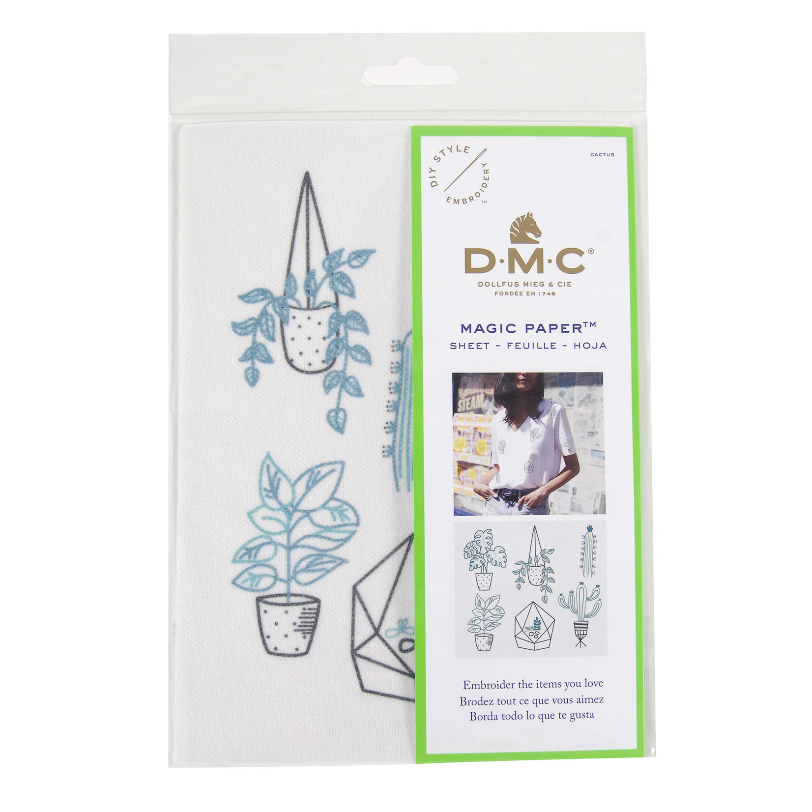DMC Embroidery Magic Paper