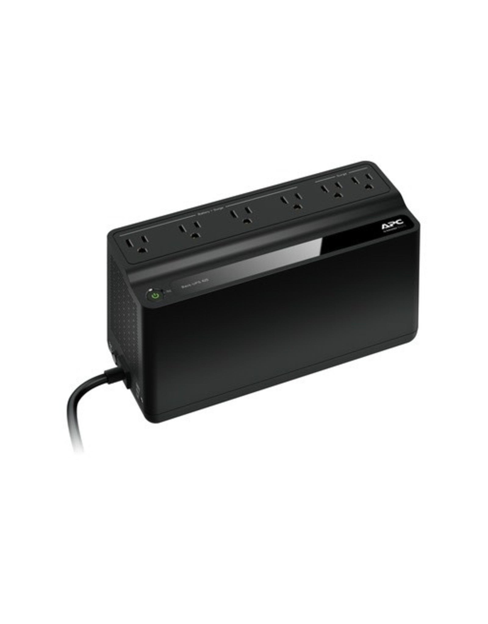 Schneider Electric Inst. APC by Schneider Electric Back-UPS, 6 Outlets, 425VA, 120V