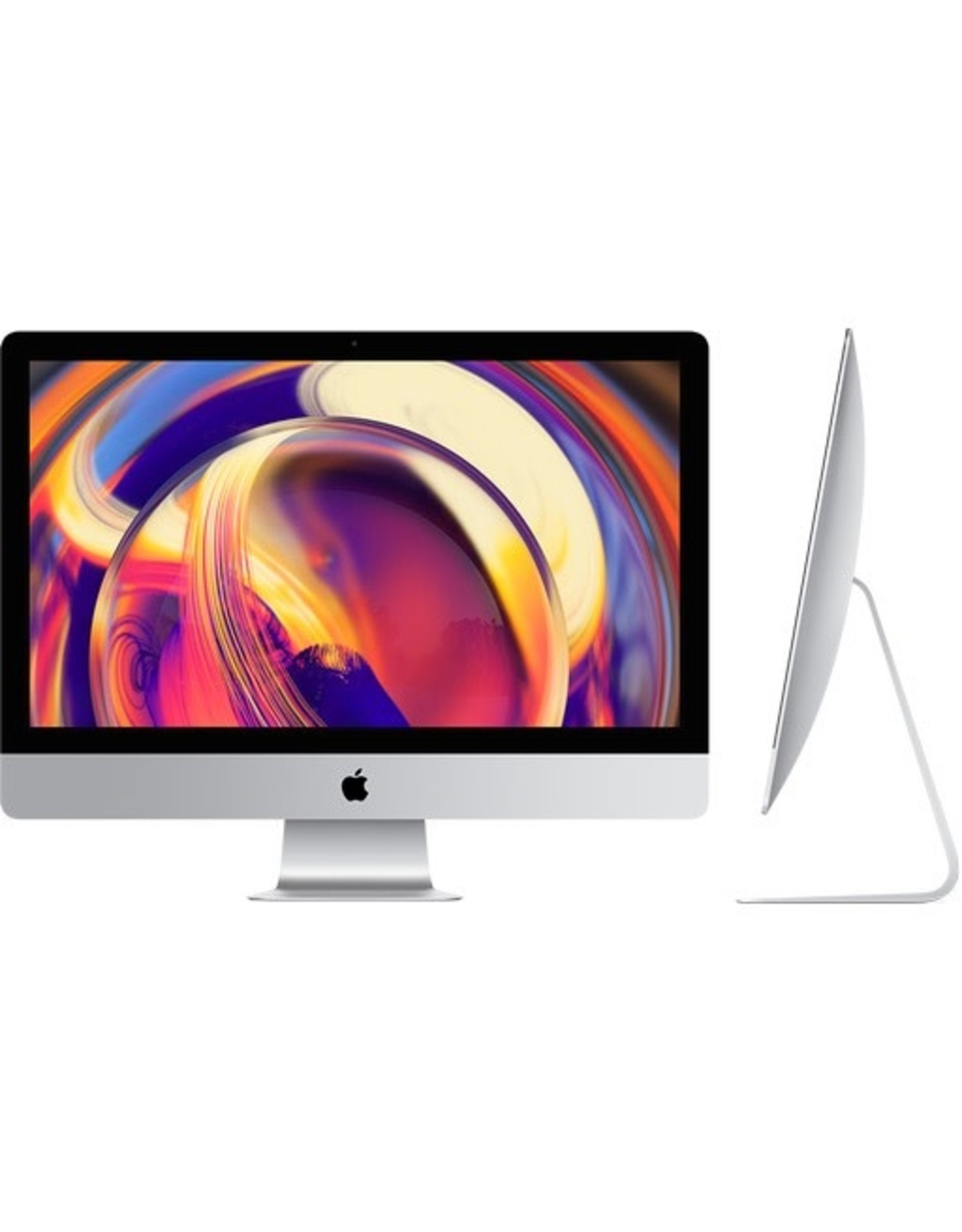 "Apple (Standard) iMac 27"" - Processor: (065-C7GL) - 3.0GHz 6-core 8th-generation Intel Core i5 processor, Turbo Boost up to 4.1GHz,Memory: (065-C6WK) - 8GB 2666MHz DDR4 memory,Storage: (065-C6WP) - 1TB Fusion Drive storage,Graphics: (065-C7GX) - Radeon Pro 570X"