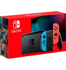 Nintendo Nintendo Switch with Neon Blue and Neon Red Joy Con