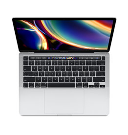 Apple 13-inch MacBook Pro Silver 512GB (M1) Two Thunderbolt 3 ports