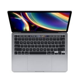 Apple 13-inch MacBook Pro Space Gray 256GB (M1) Two Thunderbolt 3 ports