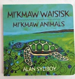 Nimbus Publishing Mi'kmaw Animals  Board Book