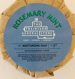 All Ways Us Rosemary Mint Soap Bar - Trainyard Connect