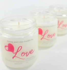 Honey & Lime Candles Love Candle