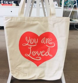 The Trainyard General Store You Are Loved Totebag
