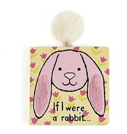 Jelly Cat JC If I Were a Rabbit Book Pink