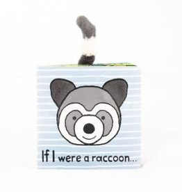 Jelly Cat JC If I Were Raccoon Book