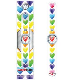 Watchitude Watercolor Hearts