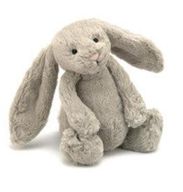 Jelly Cat JC Bashful Grey Bunny Large