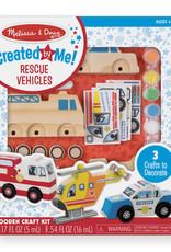 Melissa & Doug Rescue Vehicle Craft
