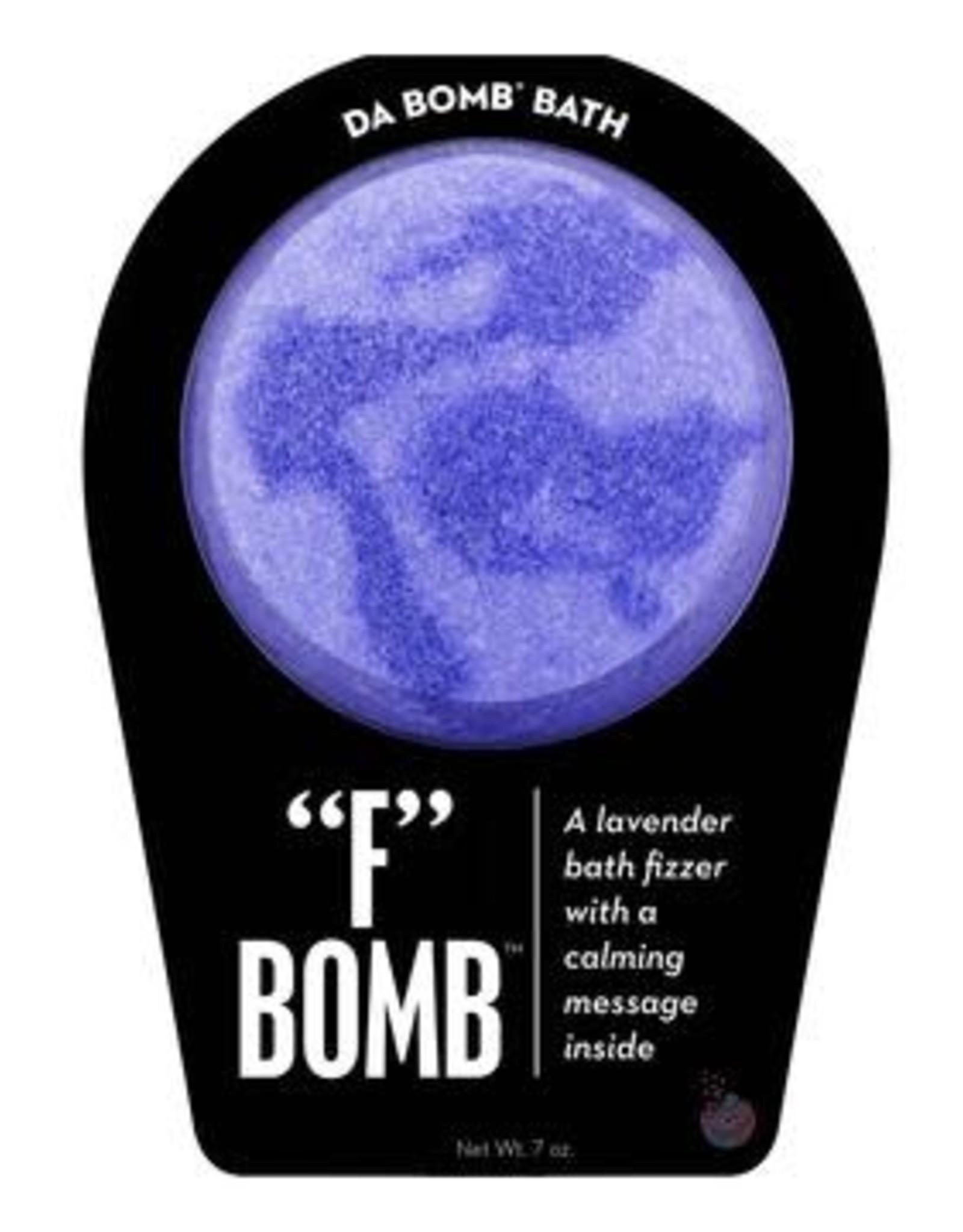 """Da Bomb Fizzers """"F"""" Bomb"""