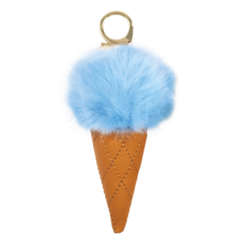 Iscream Ice Cream Keychains Blue
