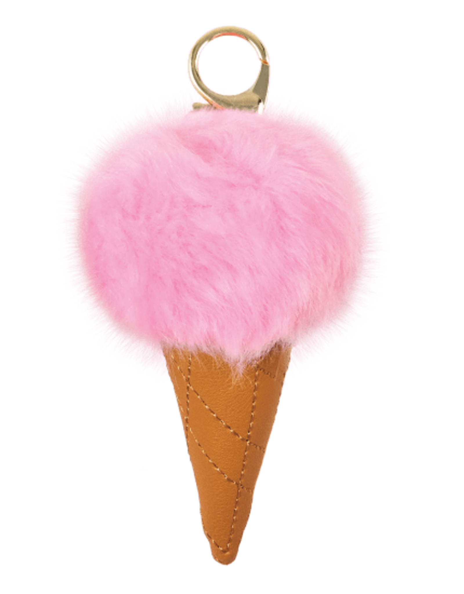 Iscream Ice Cream Keychains Pink