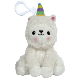Iscream LLamacorn Mini Squishes Keychain