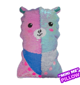 Iscream LLama Sequin Pillow Mini