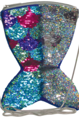 Iscream Mermaid Reversible Sequin Bag