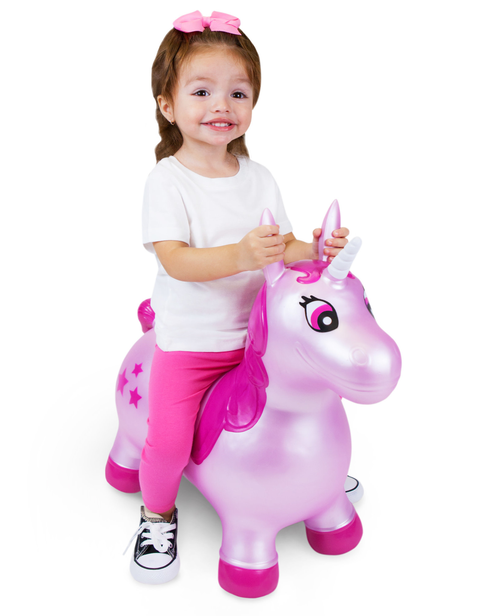 Waddle Unicorn Bouncer Pink