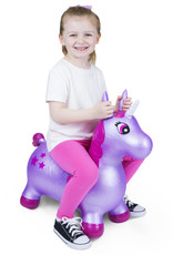 Waddle Unicorn Bouncer Purple