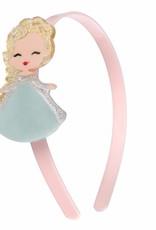 Lillies & Roses LR Headband Cute Doll with Sparkle Hair (mint dress)