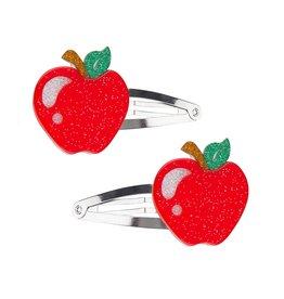 Lillies & Roses Apple Hair Clip Snap