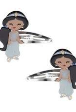 Lillies & Roses Hair Clip Cute Doll Genie Snap