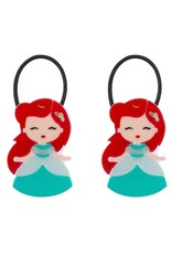 Lillies & Roses Pony Tail Cute Doll with Red Hair