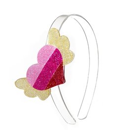 Lillies & Roses LR Headband Winged Heart