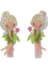 Lillies & Roses Hair Clip Fairy Alligator (Lime Green)