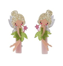 Lillies & Roses LR Hair Clip Fairy Alligator (Lime Green)