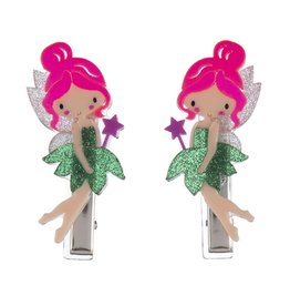 Lillies & Roses Hair Clip Fairy alligator