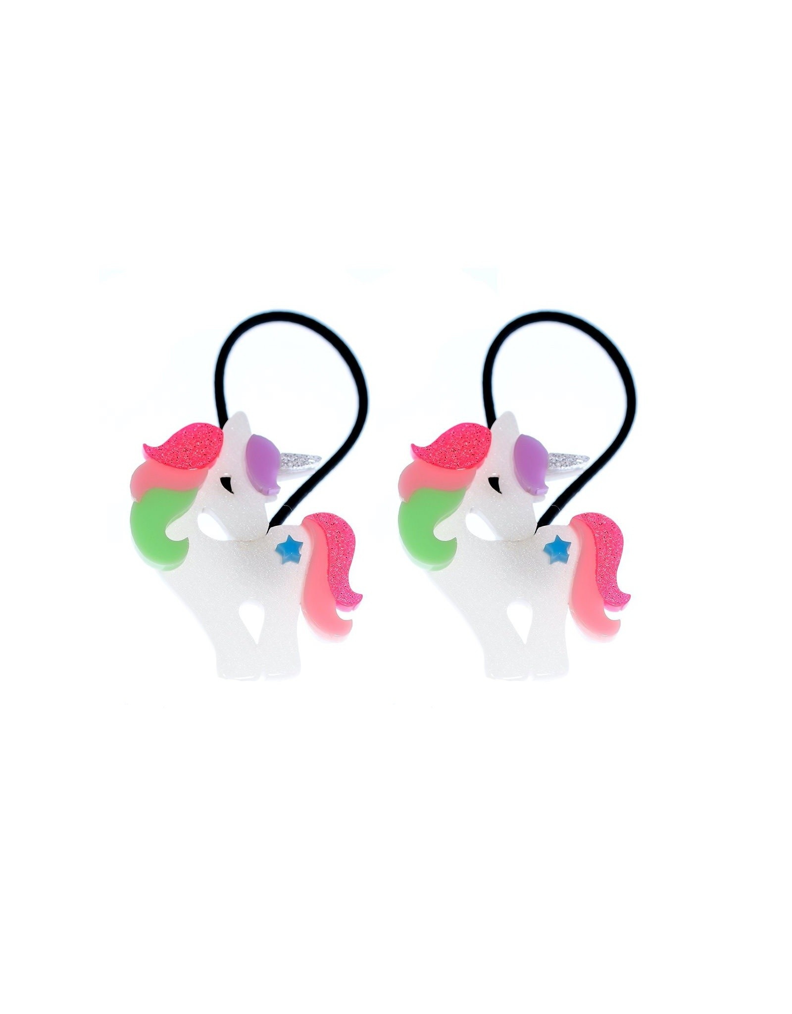 Lillies & Roses Ponytail Unicorn Bright Pastel