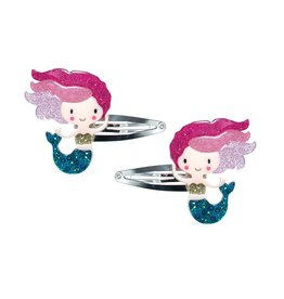 Lillies & Roses Hair Clip Mermaid Snap