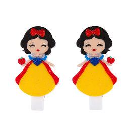 Lillies & Roses LR Hair Clip Cute Doll with Apple Snap