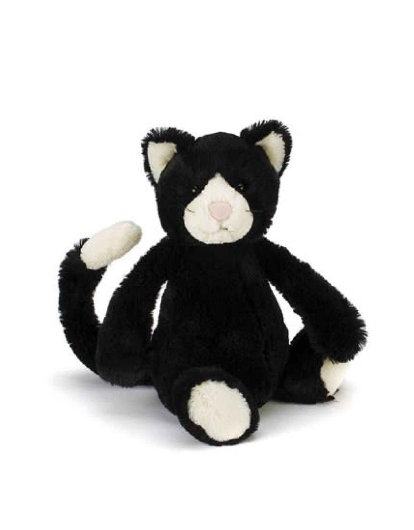 Jellycat Black and White Kitten Medium