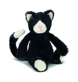 Jelly Cat JC BLK & White Kitten small
