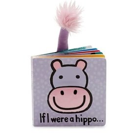 Jelly Cat JC If I Were a Hippo Book