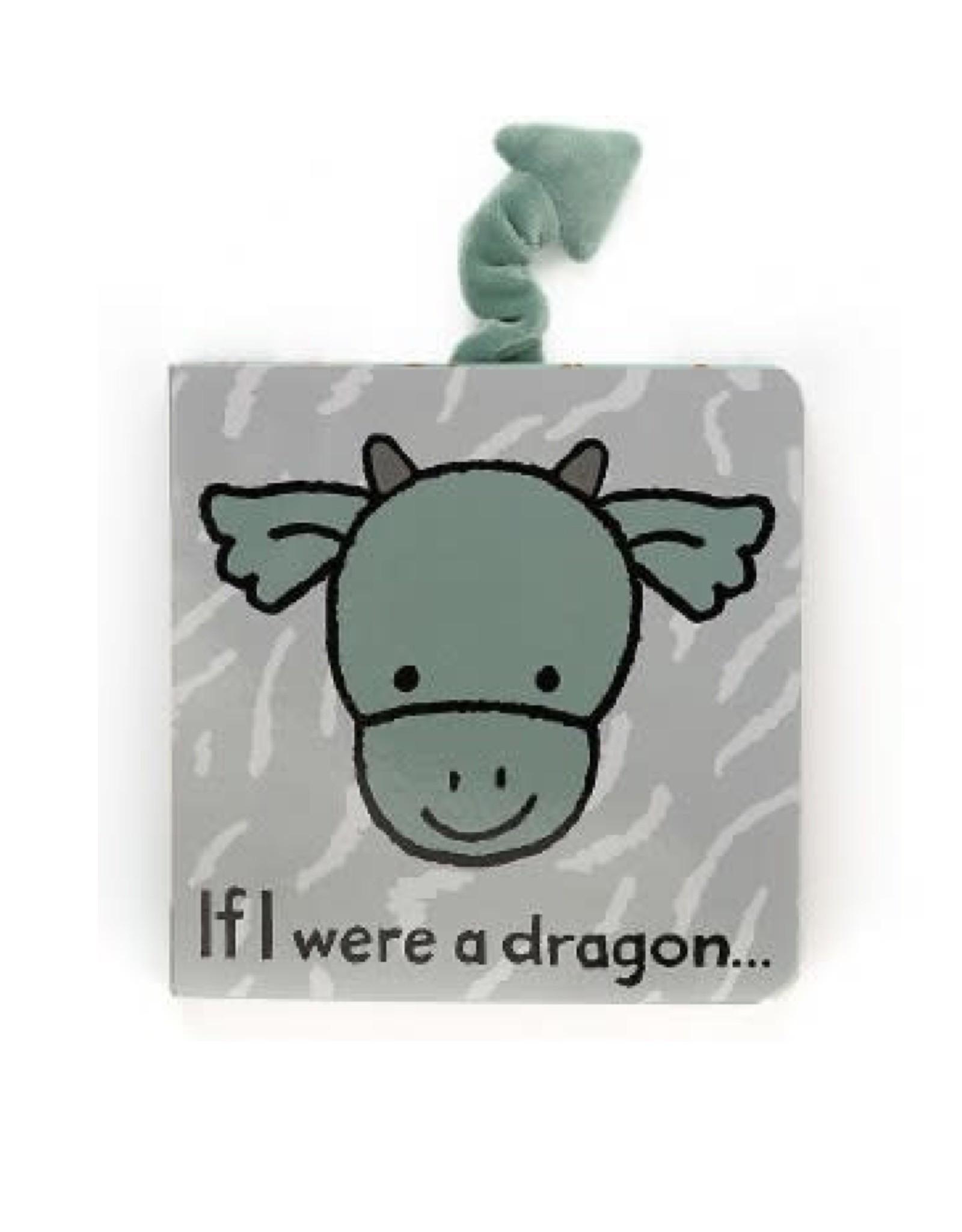 Jellycat If I Were a Dragon Book