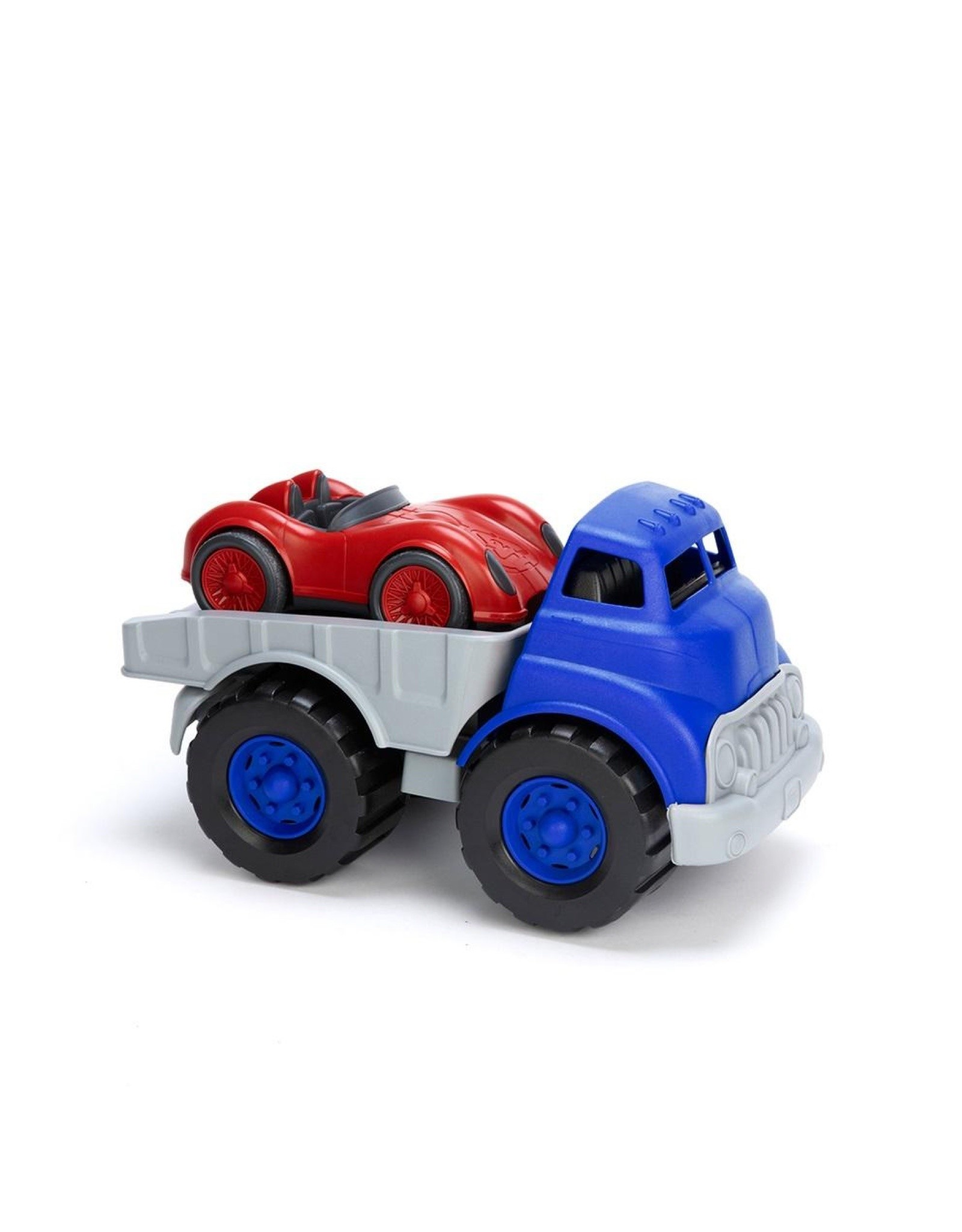 Green Toys Green Toys Flatbed w/ Red Race Car