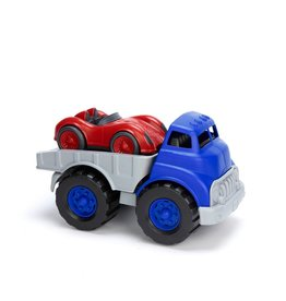 Green Toys Flatbed w/ Red Race Car