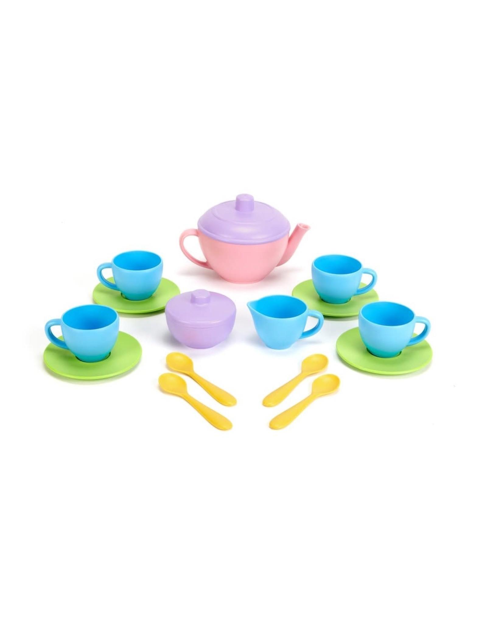 Green Toys Green Toys Tea Set (Pink)