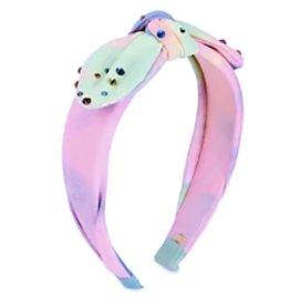 Bari Lynn Bari Lynn Tie Dye Knot Bow Neon Headband