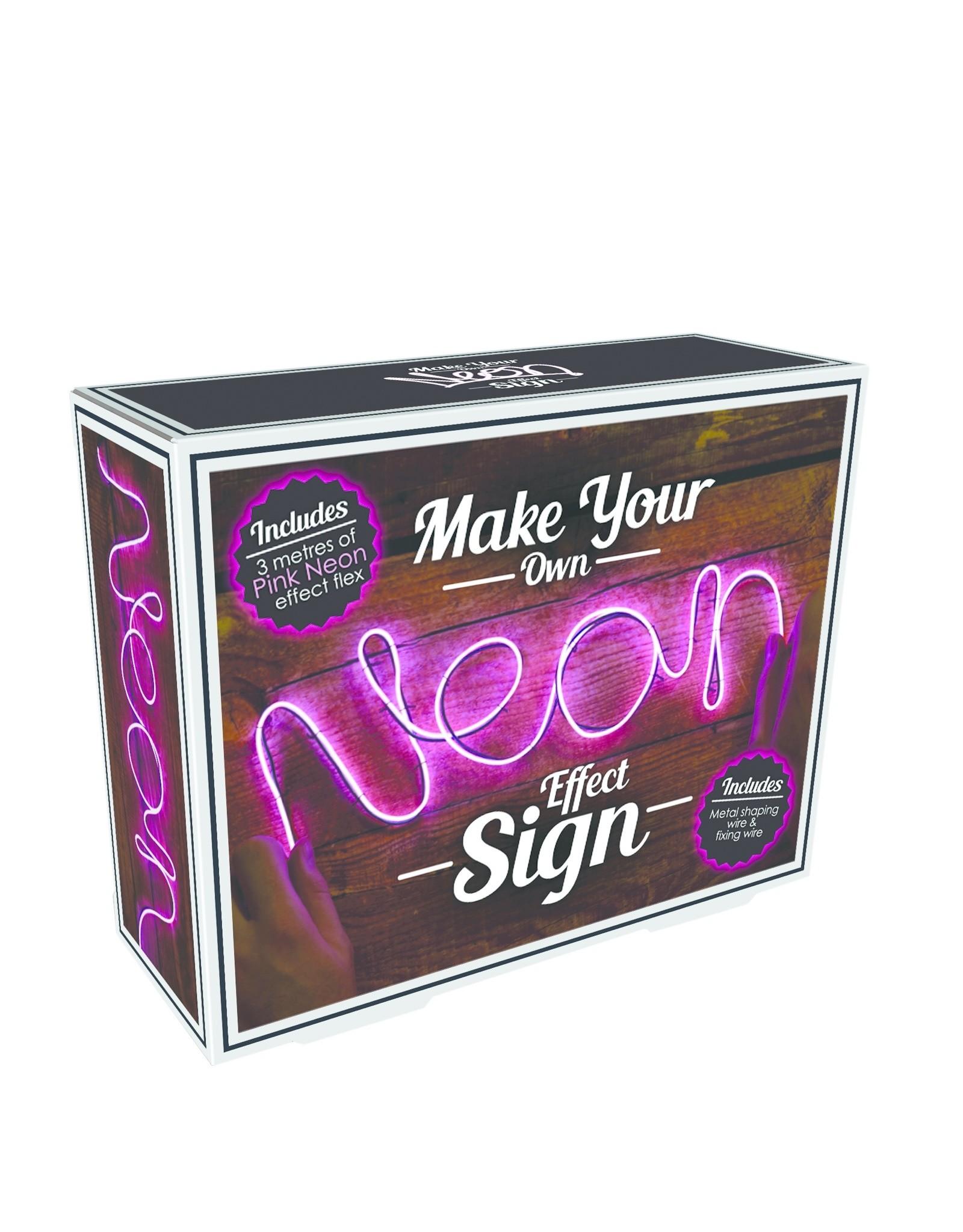 Iscream Neon Effect Light - Pink