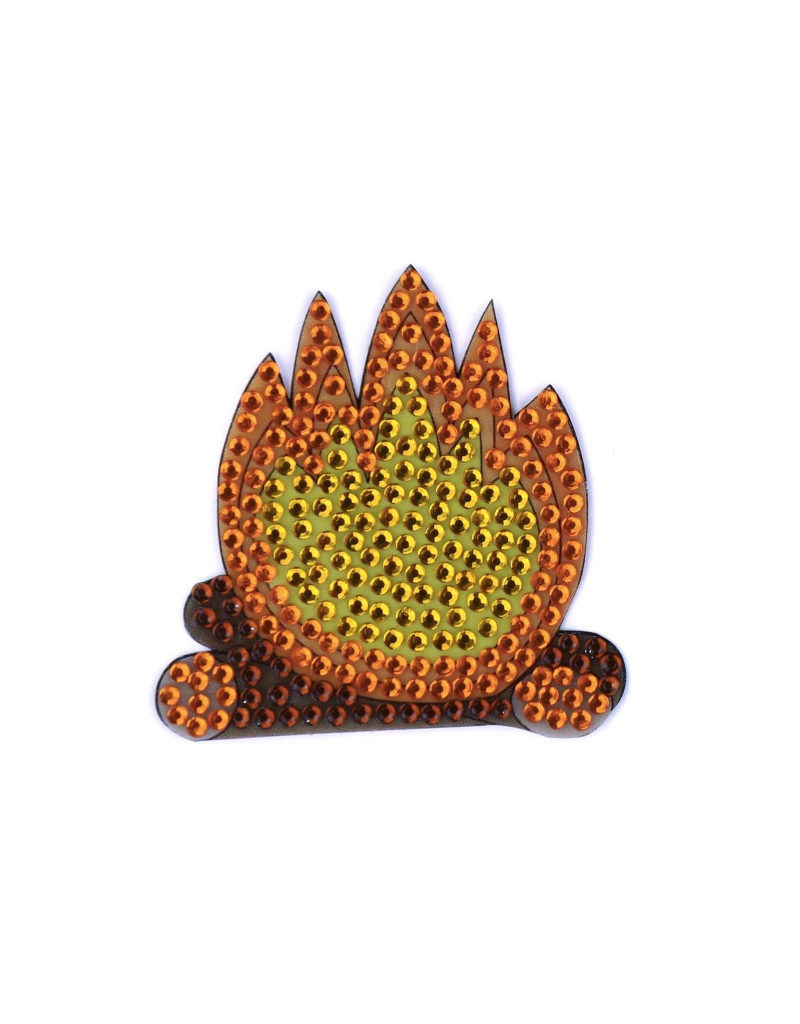 Sticker Beans Campfire